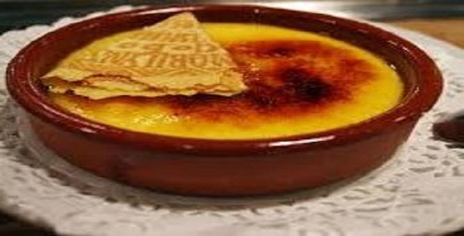 Recetas Especiales - Crema Catalana