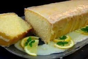 Tartas Dulces - Ponque de Limón