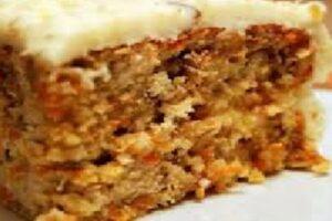 Tartas Dulces - Tarta de Zanahoria